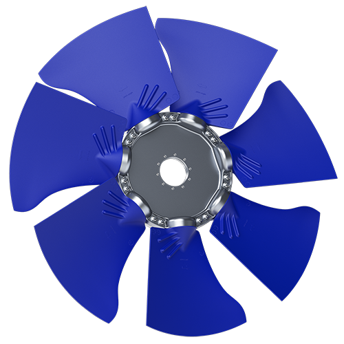 7-bladed S45Y axial fan