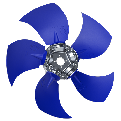 5-bladed S2Z axial fan